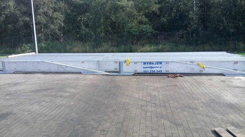 Bariery drogowe ochronne tymczasowe stalowe Godar